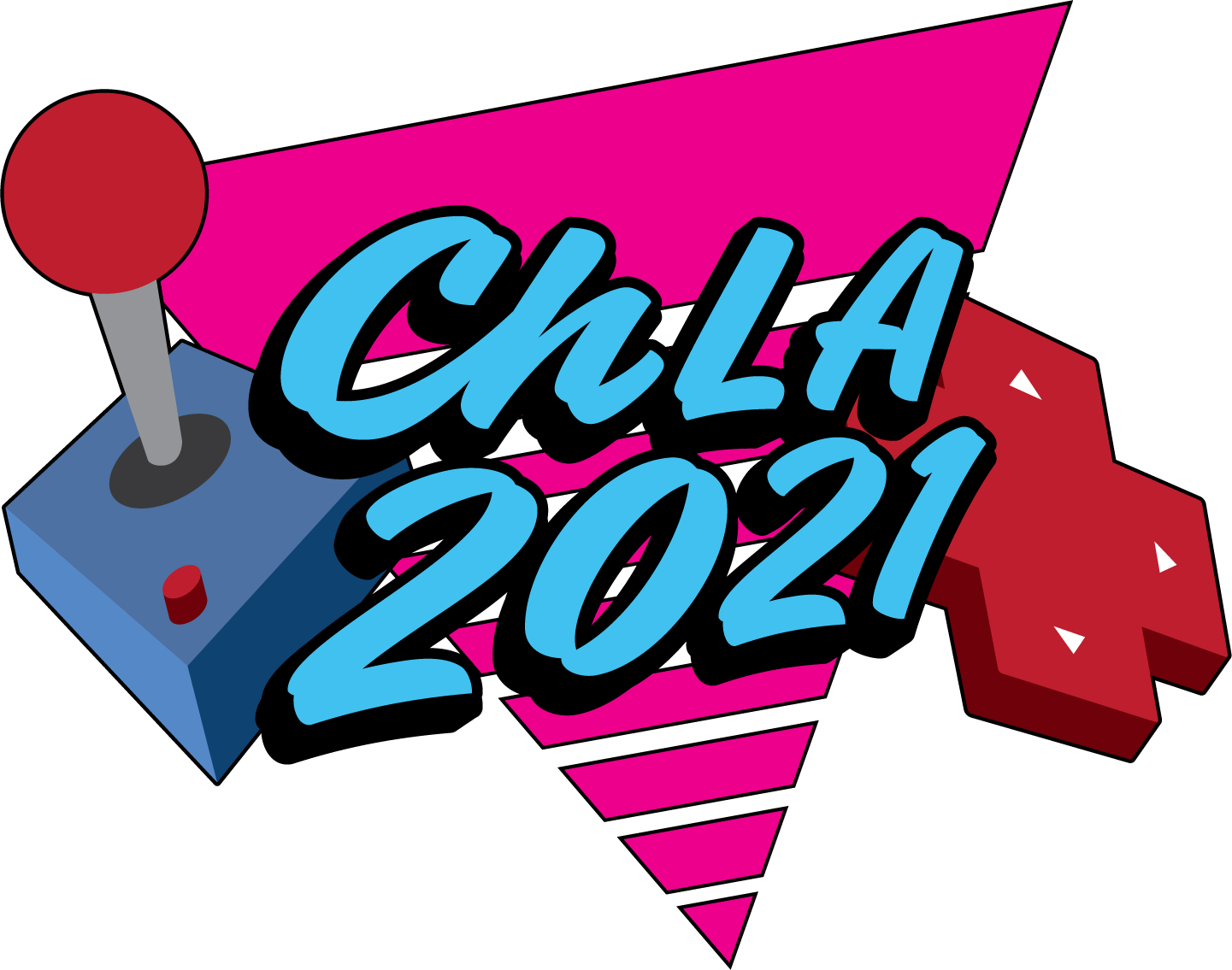 2021 ChLA conference logo for The Arcade