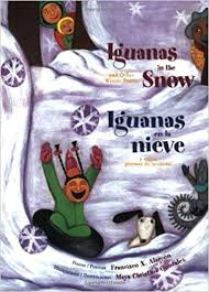 Book cover image for Iguanas in the snow and other winter poems