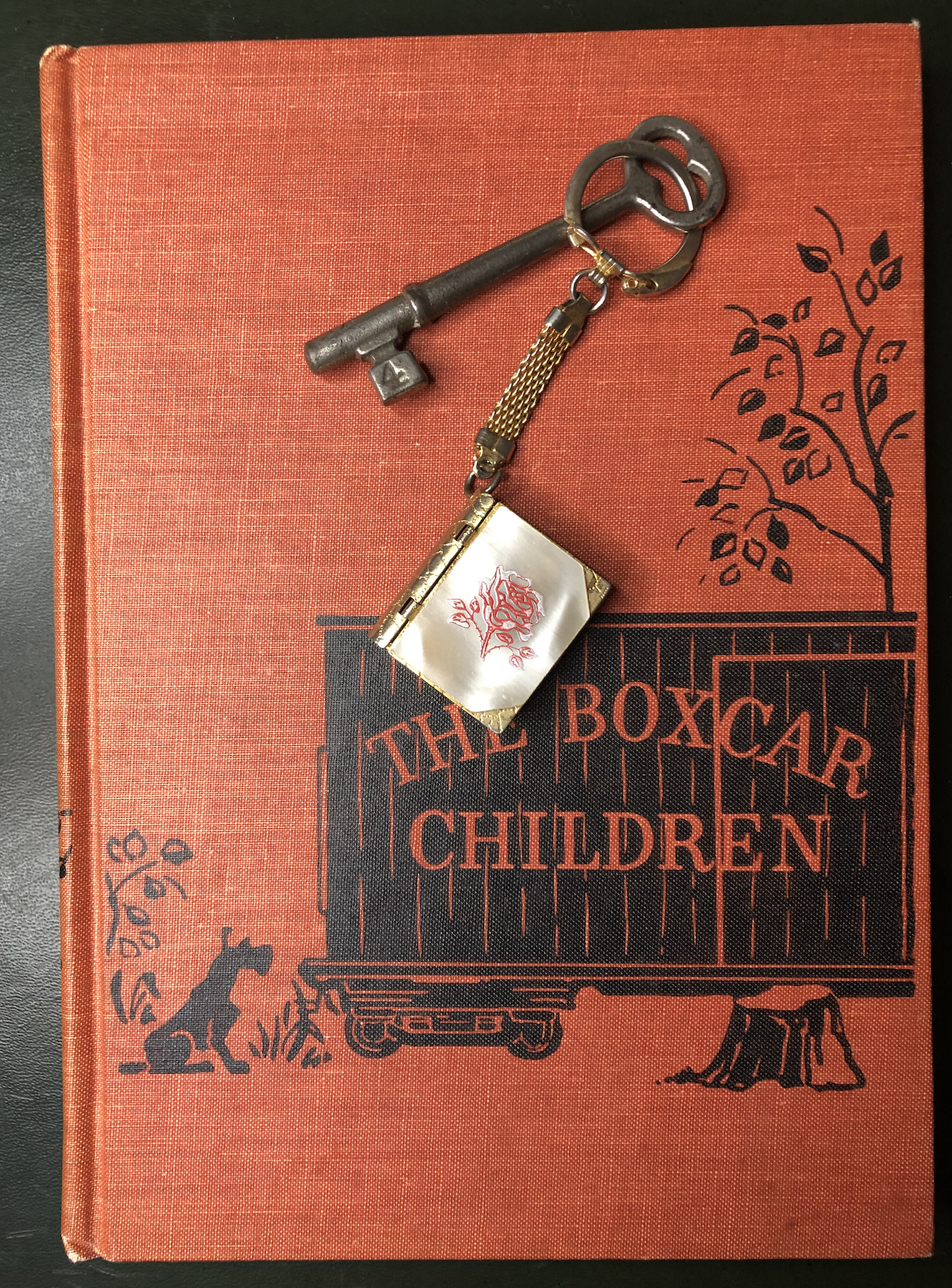 Image of the Boxcar Children book cover.